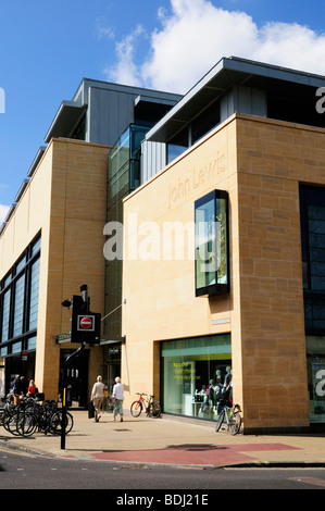 The John Lewis department store in St Andrews Street, Cambridge England UK - Stock Photo