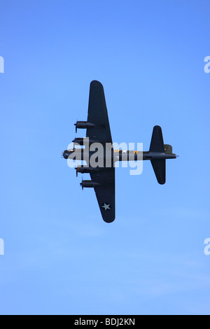 B-17 Flying Fortress Sally B plane - Stock Photo