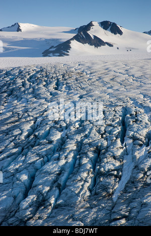 Harding Icefield, Kenai Fjords National Park, Alaska. - Stock Photo
