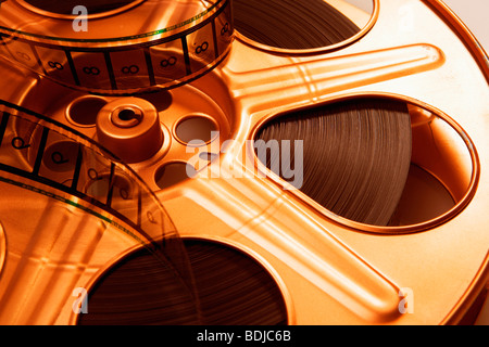 Close-up of Film Reel - Stock Photo
