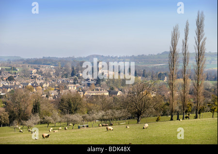 THE TOWN OF CHIPPING CAMPDEN GLOUCESTERSHIRE UK - Stock Photo