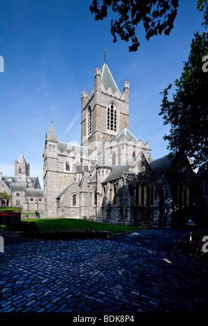 Christ Church Cathedral, Dublin, Ireland - Stock Photo