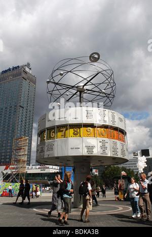 World Watch, Alexanderplatz, Berlin, Germany. - Stock Photo