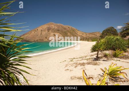 Indonesia, Lombok, South Coast, Mawun, beach - Stock Photo