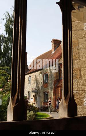 [Dorchester Abbey Museum], 'Dorchester on Thames', Oxfordshire, England, UK - Stock Photo