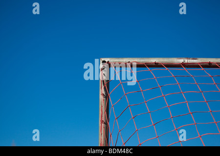 Local Soccer Match, Hout Bay, South Africa - Stock Photo