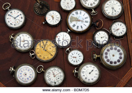 Clock, watch, time, watches, clocks, many, - Stock Photo