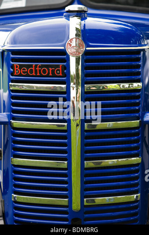 Old Bedford truck front end - Stock Photo