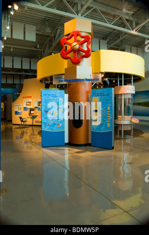 Exhibit At The National Mississippi River Museum And