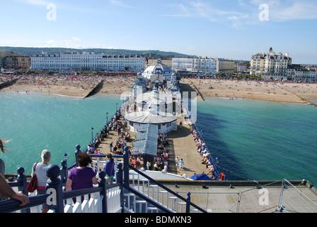 Eastbourne Pier, England United Kingdom - Stock Photo