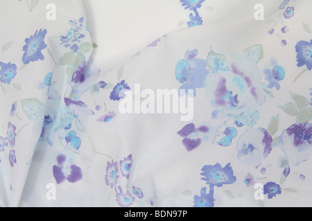 light floral print - Stock Photo