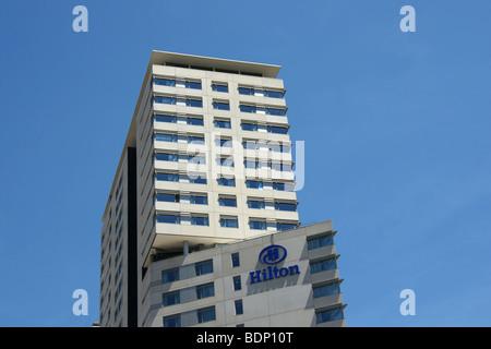 Diagonal Mar Hilton Hotel, Barcelona - Stock Photo