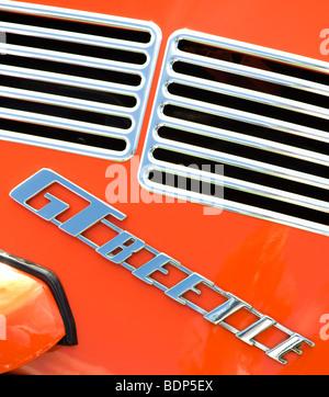 Volkswagen VW beetle GT. Classic German car abstract - Stock Photo