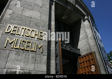 The Deutsches Museum, Munich, Germany - Stock Photo