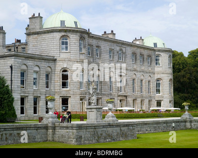 Powerscourt Estate House and Gardens, near Enniskerry in County Wicklow Irleand - Stock Photo