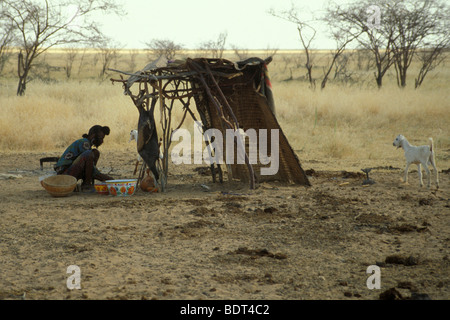 niger, agadez, tuareg land - Stock Photo