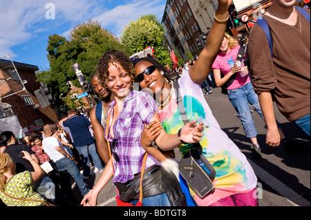 Notting Hill Carnival, London, United Kingdom - Stock Photo