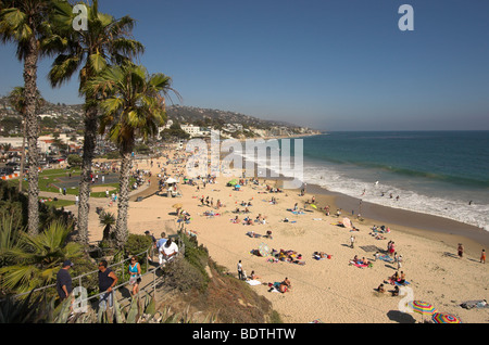 Laguna Beach, California, USA. Photo July 2009 - Stock Photo