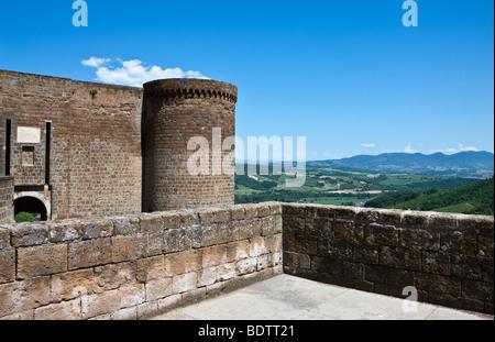 Italy,Umbria,Orvieto,the Albornoz fortress