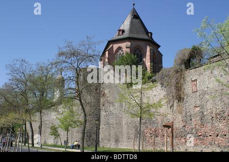 frankfurt hoechst am main, hessen, deutschland, hesse, germany - Stock Photo