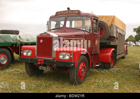 Classic British Trucks Scammell Highwayman - Stock Photo