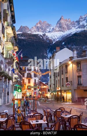 Chamonix-Mont-Blanc, French Alps, Haute Savoie, Chamonix, France - Stock Photo