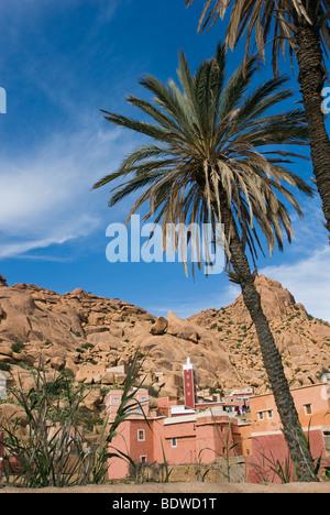 The Berber village of Adai in the Anti Atlas mountains, Morocco - Stock Photo