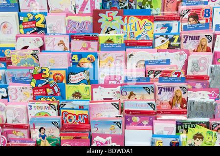 A Clintons Birthday Card Stock Photo 42114794 Alamy