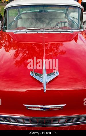 1956 Chevrolet automobile - Stock Photo