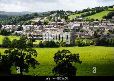 Llandysul town in the Teifi valley, Ceredigion, Wales UK - Stock Photo