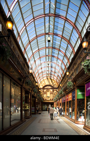 The Central Arcade in Newcastle upon Tyne, England - Stock Photo