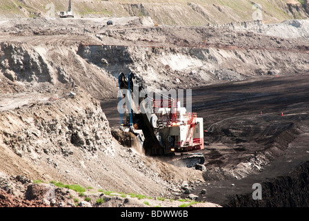 coal mining operations in Wyoming - Stock Photo