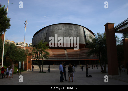 Auditorium in Rome, Italy, by architect Renzo Piano. Stock Photo