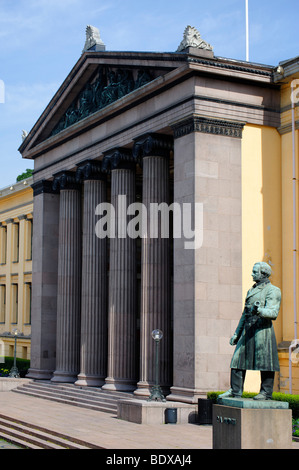 University of Oslo, Norway, Scandinavia, Europe - Stock Photo