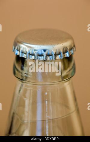 metal bottle top - Stock Photo