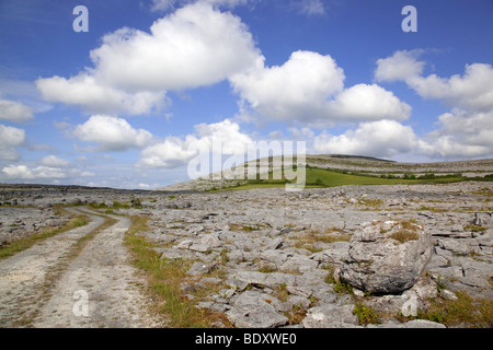 mullagh more; county clare; ireland - Stock Photo