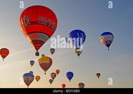 Bristol International Balloon Fiesta August 2009, UK, England, European, South west England