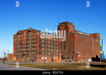 Old reservoir houses / Wismar - Stock Photo