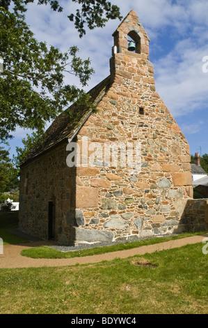 dh Chapelle Ste Apolline ST SAVIOURS GUERNSEY St Apolline 14th century chantry chapel - Stock Photo