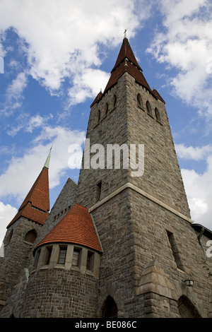 Tampere Cathedral in Tampere, Finland. Built as St John's Church, the building was completed in 1907. - Stock Photo