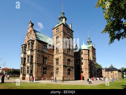Rosenborg Castle, Copenhagen, Denmark, Scandinavia, Northern Europe, Europe - Stock Photo