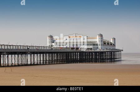 The Grand Pier at Weston-Super-Mare - Stock Photo