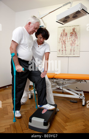 Rehabilitation facility in a hospital, physiotherapy and medical gymnastics, Gelsenkirchen, Germany