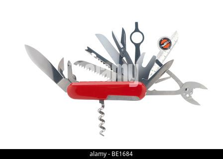 Swiss army knife - Stock Photo