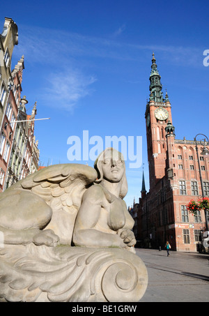 Long Market, Gdansk, Poland - Stock Photo
