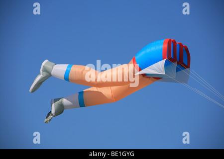 Giant kite at the 2009 Bristol Kite Festival.