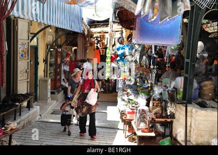Nazareth Market Israel - Stock Photo