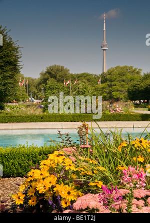 Franklin Gardens, Toronto Island Park, Toronto, Canada, North America - Stock Photo