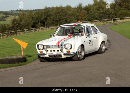 Ford Escort Mk1 Rally Car At Oulton Park Motor Racing