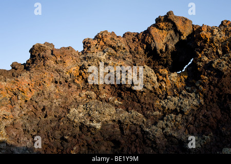 Cinder cones at Craters of the Moon National Monument in Idaho - Stock Photo